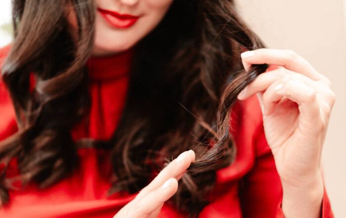 So kommen lange Haare geschützt und gepflegt durch den Winter   Konzept H