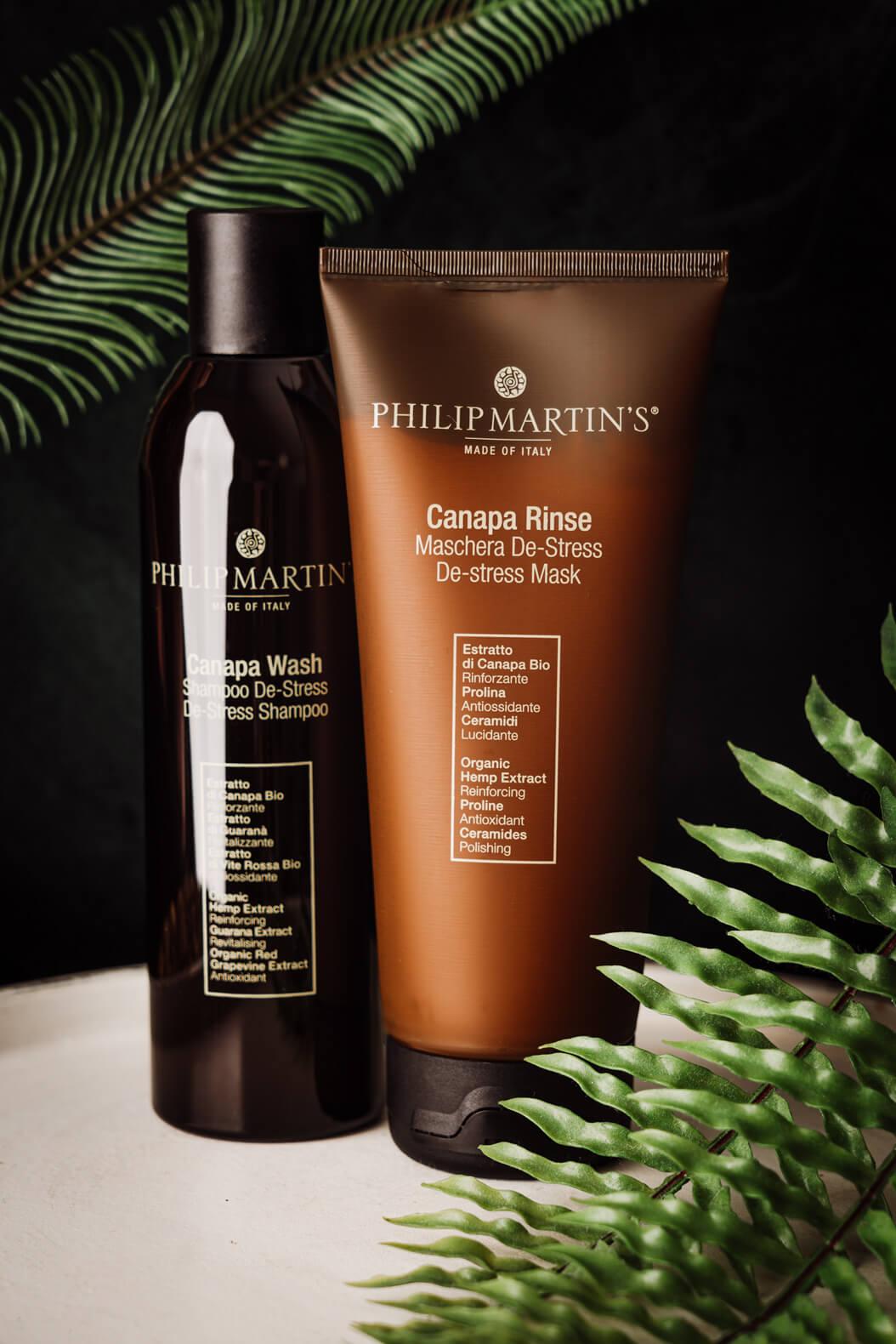 Philip Martin's Canapa Rinse |Konzept
