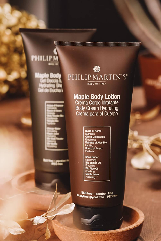 Philip Martins Maple Body Lotion - feuchtigkeitsspendende Bodylotion |Konzept H