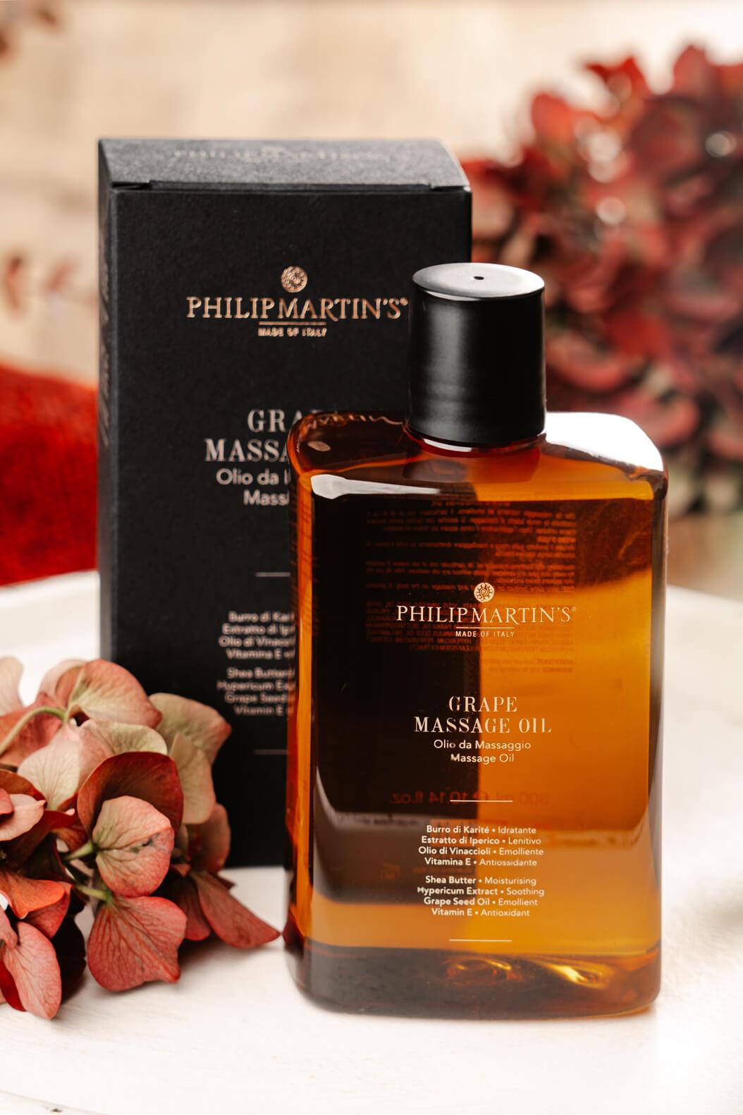 Philip Martin's Grape Oil   Konzept H